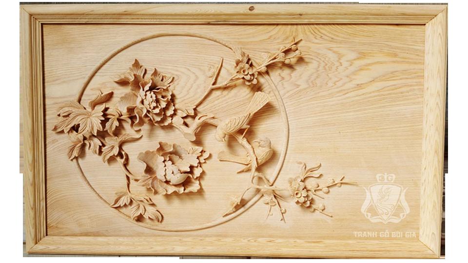 Đốc Lịch Gỗ. Chủ Đề Chim Hoa đẹp Nhất dành Cho Đốc Lịch Trang Trí