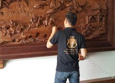 Cách vệ sinh tranh gỗ vừa sạch, vừa đẹp. Tranh gỗ Bùi Gia